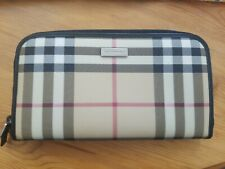 Burberry Zip Around Organizer Wallet Vintage Check