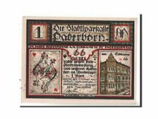 [#351887] Germania, Paderborn Stadt, 1 Mark, 1921, SPL, Mehl:1043.2