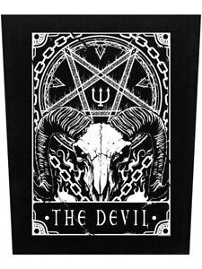 Deadly Tarot Back Patch The Devil Black 29.5x36cm