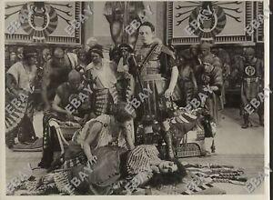 foto film muto CABIRIA Pastrone MACISTE, FULVIO AXILLA, ELISSA, SOFONISBA 1914