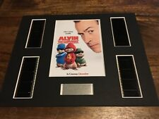 Alvin And The Chipmunks - 35 mm Film Cell Display Presentation Christmas Gift