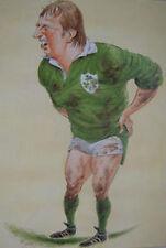 Moss Keane, Ireland Rugby Print by John Ireland