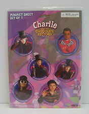 JOHNNY DEPP  CHARLIE and the CHOCOLATE FACTORY  Magnets