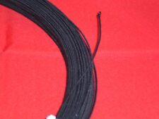 1m Hutdraht  umwickelt Draht  Millinery Wire dunkelbraun