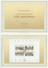 Berlin West ersttags Feuille 1987 750 ans Berlin Mi 772 à 775