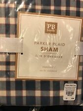 Pottery Barn Teen PARKER PLAID Standard PILLOW SHAM NEW