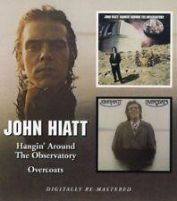John Hiatt Hangin' Around The Observatory/Overcoats CD NEW SEALED Remastered