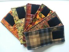 3 Dog Belly Bands, Fall Patterns Male Dog Diaper, Clothes,Training,Housebre aking