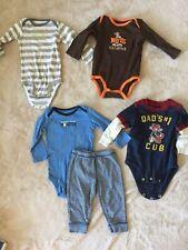 Boy's 9 Months Bodysuit Clothing Lot - Mom, Dad, Grandma
