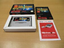 SNES Super Nintendo, THE LORD OF THE RINGS - OVP - PAL - TOP