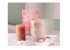 """White Waterfall Blinds Opaque Window Film 30"""" Wide x 1yd. Sold by the yard."""