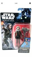 "Star Wars Sgt. Jyn Erso (Jedha) 3.75"" Action Figure Rogue One Hasbro NEW NIB"