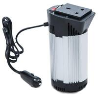 150W Power Inverter Car Charger Adapter DC 12V to AC 220V - 240V & USB Port