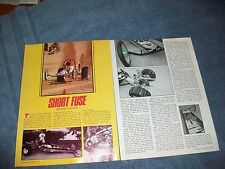 "Vintage VW Sand Rail Dragster Article ""Short Fuse"""