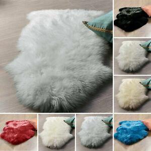 Faux Fur Fluffy Sheepskin Rugs Floor Carpet Living Room Mat Bedroom Shaggy rugs