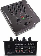 Dj Tech M10USB 2-channel Rack-mountable All Purpose Mixer W/usb & Deckadance Le