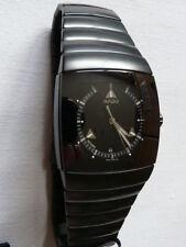 Rado Sintra XL 35 mm Schwarz / Silber R13765152 NEU + OVP