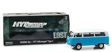 GREENLIGHT 1:24 LOST TV SERIES 1971 VOLKSWAGEN DHARMA VAN DIE-CAST BLUE 84033