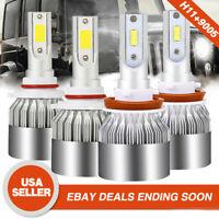 H11 9005 HB3 LED Headlight Kit Bulbs For Honda Pilot 2017-2006 Odyssey 2017-2011