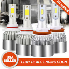 H18 H9 H11 Lights Bulbs 9005 HB3 LED Headlight Kit For Chevrolet Avalanche 4PACK