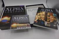 SID MEIER'S ALPHA CENTAURI PC Big Box CD ROM Windows  ITALIANO