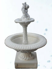 Fountain for the Garden Powder of Marble Diameter M 1,1 x H M 1,7
