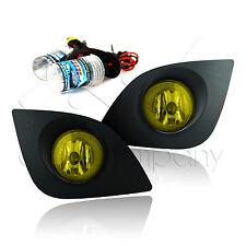 14-15 Corolla Fog Light Set w/Wiring Kit & HID Conversion Kit - Yellow