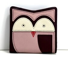 Fossil Mini Owl Womens RFID Wallet Purse Multi Coloured