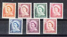 New Zealand Scott 306-312 Mint hinged (Catalog Value $21.70)