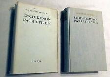 ENCHIRIDION PATRISTICUM Rouet De Journel Herder 1958 Greek & Latin Texts V Fine