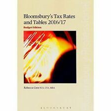 Bloomsbury's Tax Rates and Tables 2016/17, Very Good Condition Book, Rebecca Cav