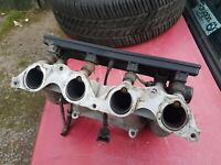 BMW e30 318i 316i inlet manifold lower with injectors,loom, fuel regulator