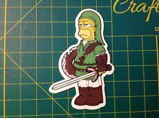 The Simpsons sticker - Homer Simpson sticker