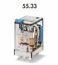 FINDER 55.33.9.024.0010 RELE' INDUSRIALE 10 A - 250V - 24 VDC - 3 CONTATTI