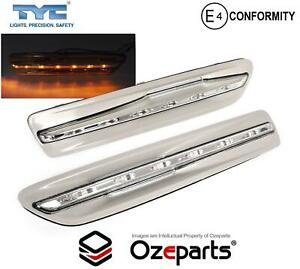 Pair / Set LED Guard Flasher Light Lamp (GREY) For Chevy Chevrolet Caprice 06~17