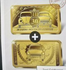 NEU*Gold-Barren**999 GOLD*30 Jahre Deutsche Einheit*Kapsel**Echtheits-Zertifikat