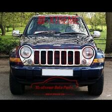CHROME COVERS FOR 2002 03 2004 2005 2006 07 JEEP LIBERTY Full Mirror Covers