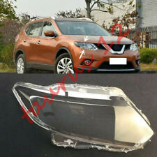 Right Side Headlight Cover Clear PC With Glue replace For Nissan Rogue 2014-16-J