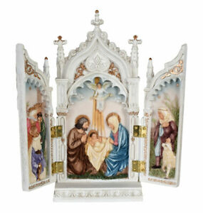 Klappaltar Hausaltar Antik Altar Triptychon Reisealtar Flügelaltar Tischaltar