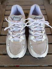 Asics Gel Saga Silver/white/pink Running Shoes Women's 8