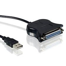 CSL Adattatore USB A PARALLELA LPT 25-pin | Cavo Della Stampante/Cavo Adattatore | Plug &