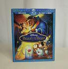 Disney Diamond Edition BEAUTY AND THE BEAST BLU-RAY + DVD 3 Disc COMBO PACK