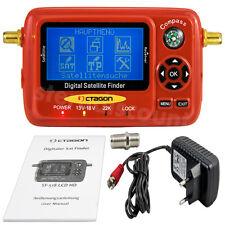 OCTAGON SF518 SAT-FINDER Messgerät LCD HD & UHD 4K USB 2.0 Spektrum Digital TV