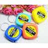 2X Easy Keychain Retractable Ruler Tape Measure Small Mini Portable Pull Rule NT