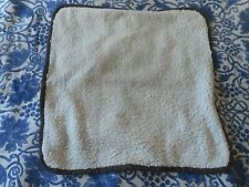Pet Cat Dog Small Beige Blanket Soft 47cm x 47cm