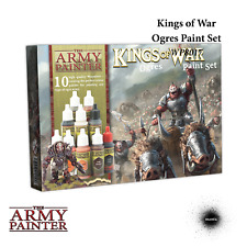 THE ARMY PAINTER Warpaints Kings of War Ogres Paint Set NEW Wargaming Miniatures
