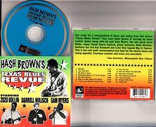 Hash Brown's Texas Blues Revue CD 1999 Zuzu Bollin/Darrell Nulisch/Sam Myers