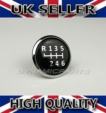 6 Speed Gear Knob Emblem Badge Cap For VW Transporter T5/T6 GP