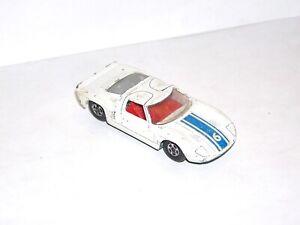 Vintage Matchbox Superfast #41 Ford GT **BLUE LIGHT SPECIAL**