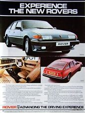 1982 ROVER SD1 '3500 SE' Motor Car Ad. #2 - Original Auto Advert Print